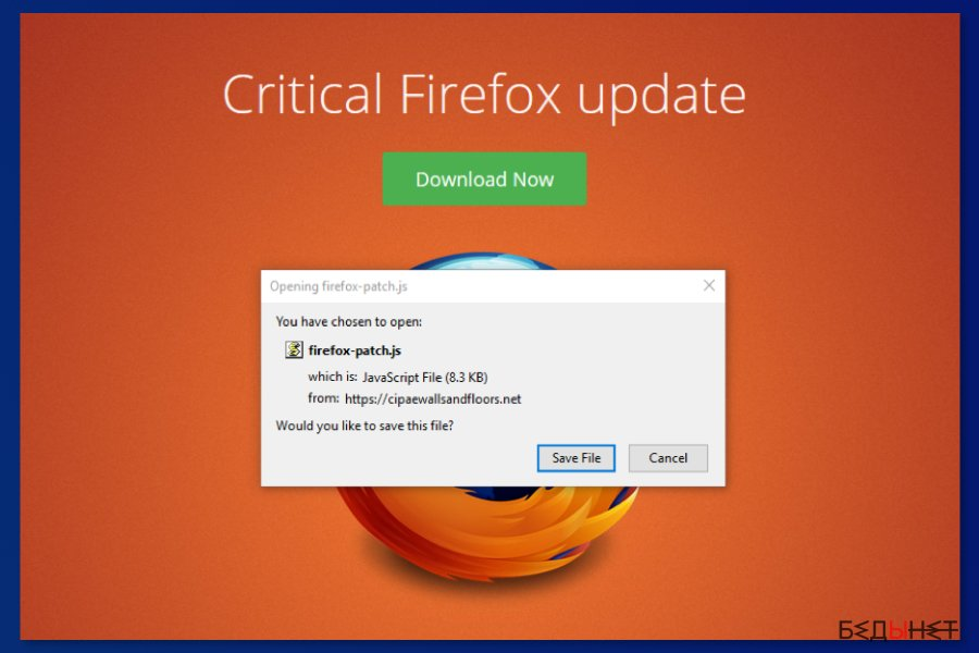 Critical Firefox Update