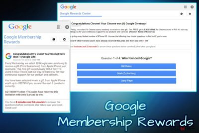 Google Membership Reward вирус