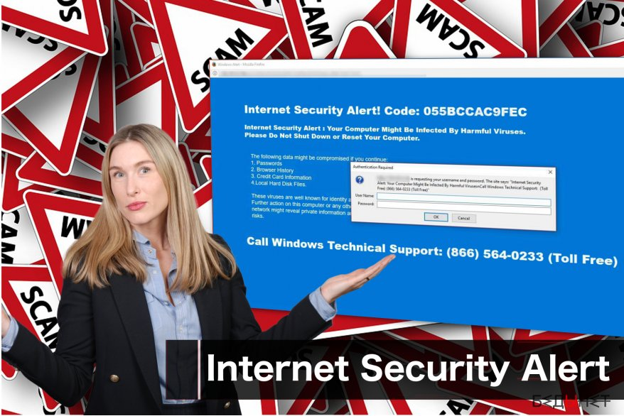 """Internet Security Alert"" вирус"