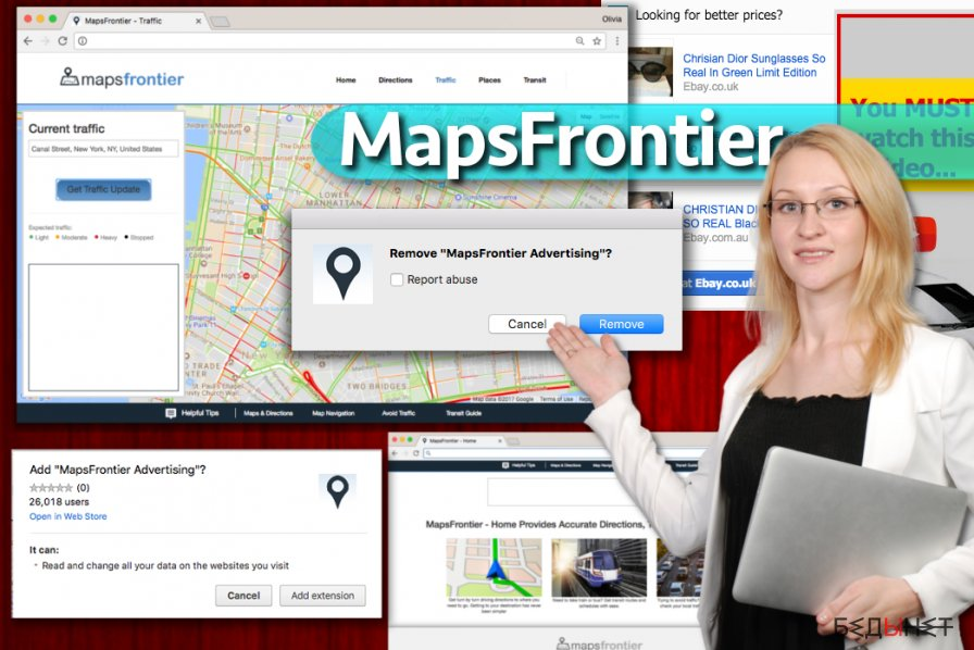 MapsFrontier вирус