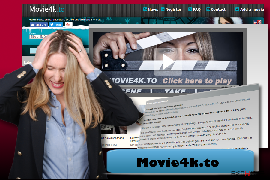 Movie4k.to pop-up ads