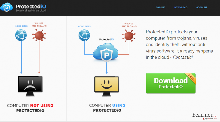 Search.protectedio.com снимок