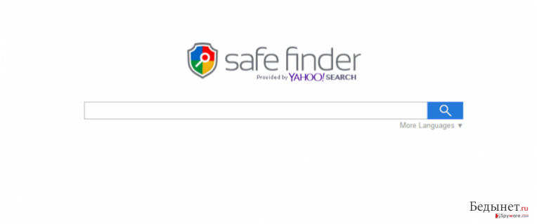 Search.SafeFinder.com снимок
