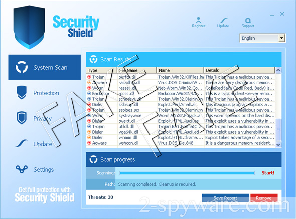 Security Shield снимок