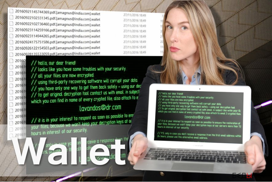 Wallet ransomware image