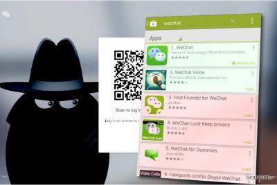 WeChat вирус