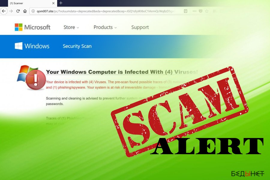 Four virus is caused by adware